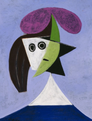 Pablo Picasso - Woman In A Hat (Olga)