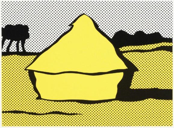 """Roy Lichtenstein - """"Haystack"""""""