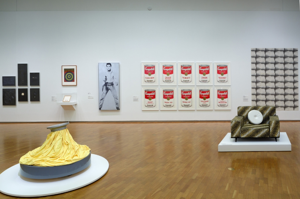 Installation view of  American Masters  at the National Gallery of Australia, Canberra.