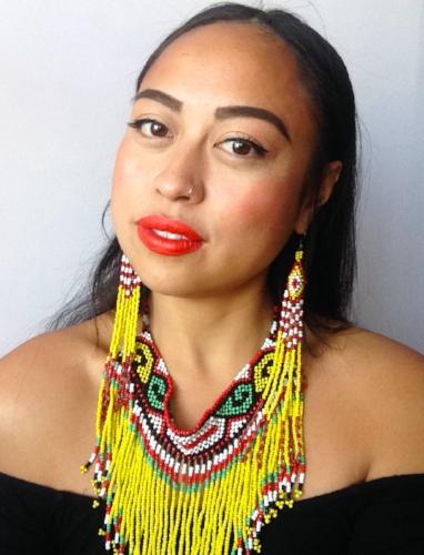 2018 AusArt Fellow, Caroline Garcia