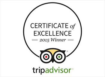Brandy Creek Wines wins Trip Advisor 2015 'Certificate of Excellence'