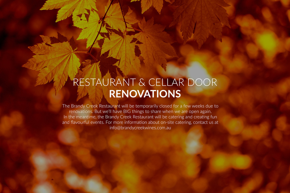 Restaurant & Cellar Door Renovations