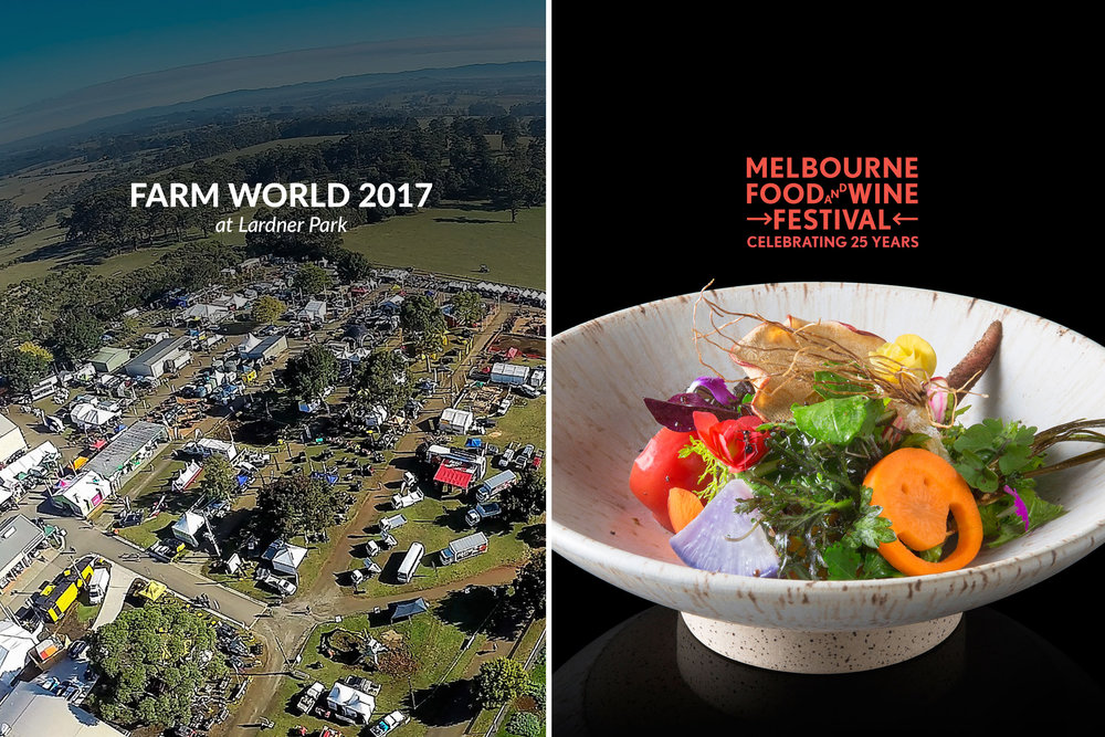 Farm World & Melbourne Food and Wine Festival 2017