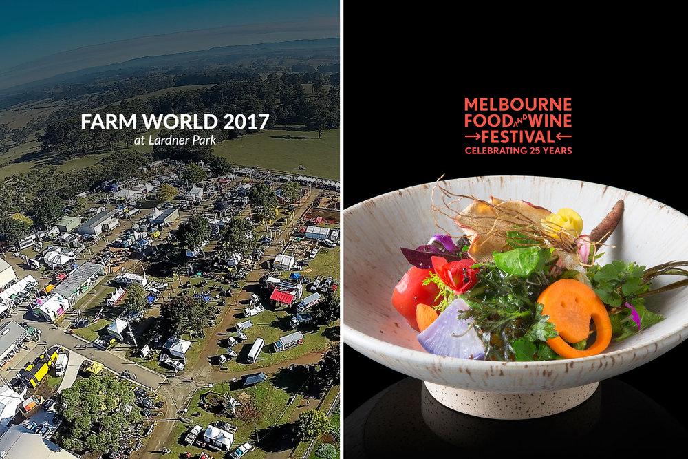 Farm World & Melbourne Food and Wine Festival 2017