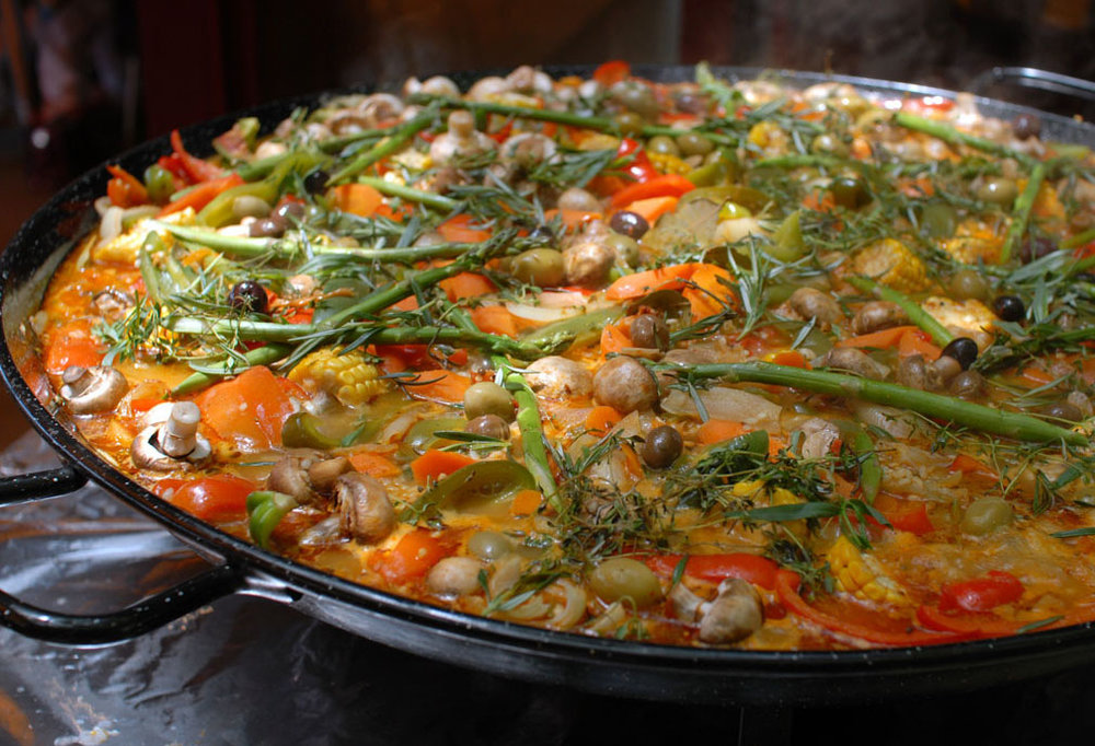 Our famous Paella Feasts...