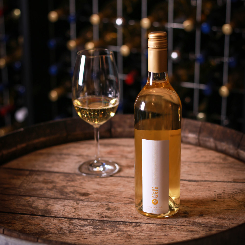 PINOT GRIS - Pinot Gris the super grape. The perfect example of the carietal with a nose of freshly peach, pear, capsicum and spices. Thick, rich and oily palate counter balanced by fresh acid driven finish. A perfect match with our spicy, rich seafood dishes like garlic chilli prawns off the Tapas menu.