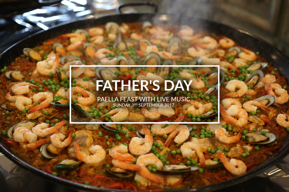 Father's Day Paella Feast with Live Music!