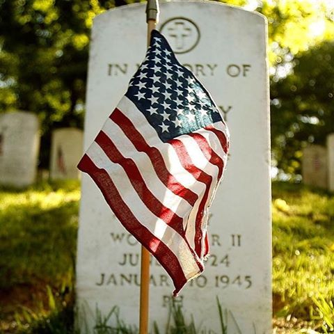 The land of the free BECAUSE of the brave! We thank you! #memorialday