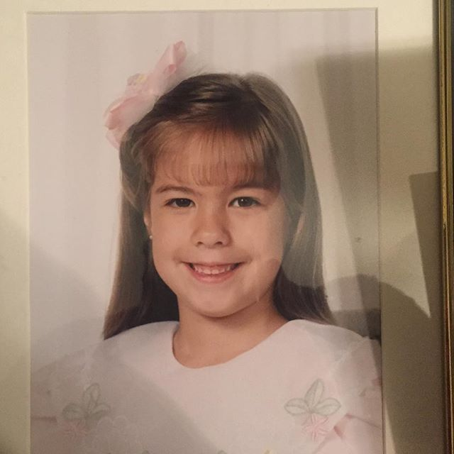 Can anybody guess who this is?! #throwback #hasntchangedabit