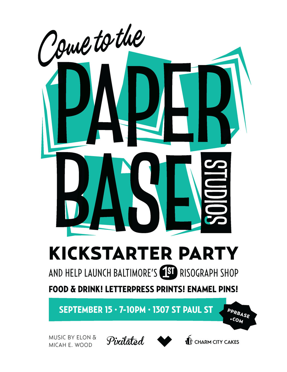 PaperBase Kickstarter launch party