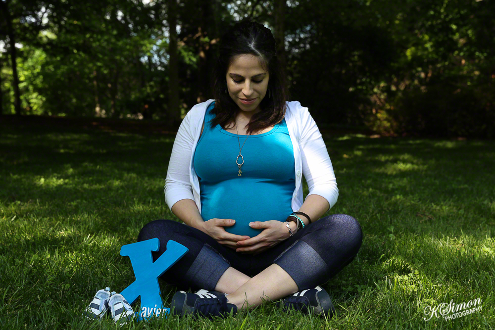 Lifestyle Maternity Portrait | Atlanta + Dallas Lifestyle, Fashion, & Business Portrait Studio and Outdoor Photographer | ksimonphotography.com | © KSimon Photography, LLC