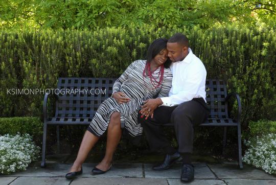 Lifestyle Maternity Portrait of Stunning Couple | Atlanta + Dallas Lifestyle, Fashion & Business Portrait Studio and Outdoor Photographer | ksimonphotography.com | © KSimon Photography, LLC