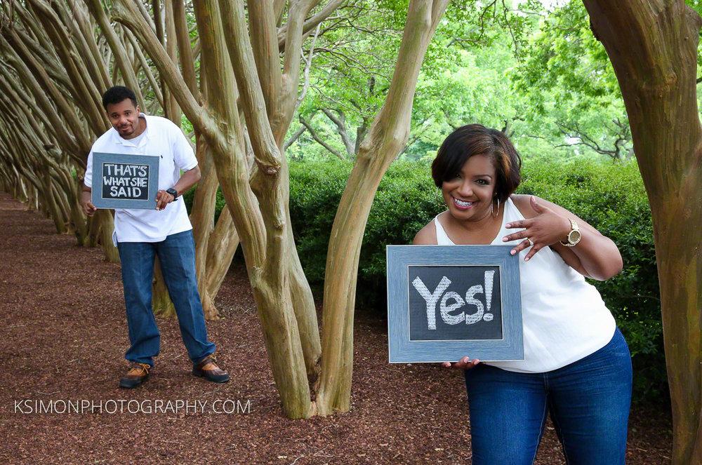Lifestyle Engagement Portrait | Dallas Fashion & Lifestyle Portrait Studio and Outdoor Photographer | ksimonphotography.com | © KSimon Photography, LLC