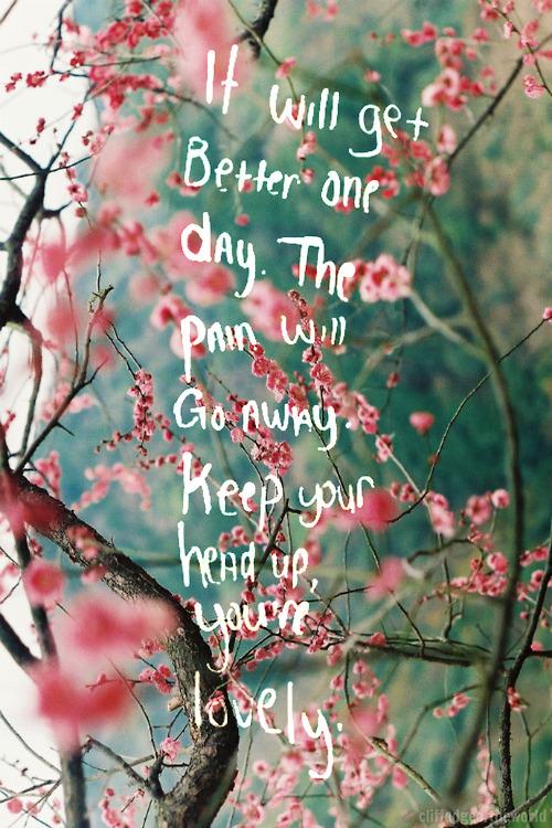 #keepyourheadup #optimism 🌸