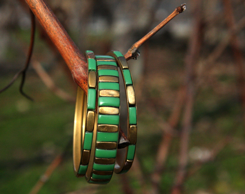 bracelets-green-fashion-hot-winter-trend-green