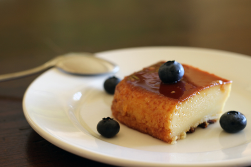 almond-infused-flan