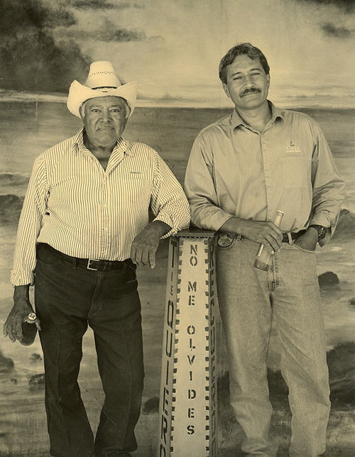 Sr. Pablo and dad Pedro Ceja