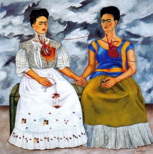 "Self portrait, ""Las Dos Fridas"" - 1939"
