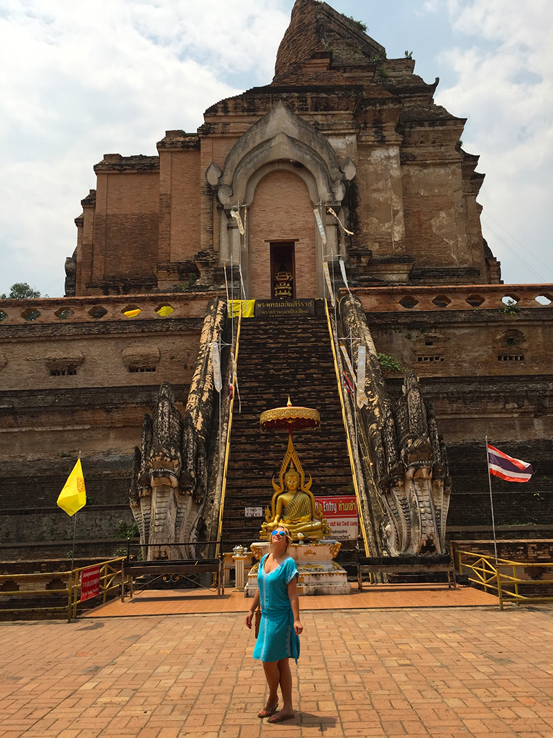 Wat Chedi Luang - oldest standing temple built in the 1400s