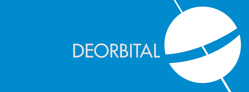 Deorbital's first logo, by Omar Elaasar.