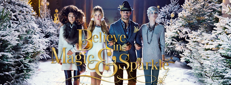 M&S Magic & Sparkle campaign shot