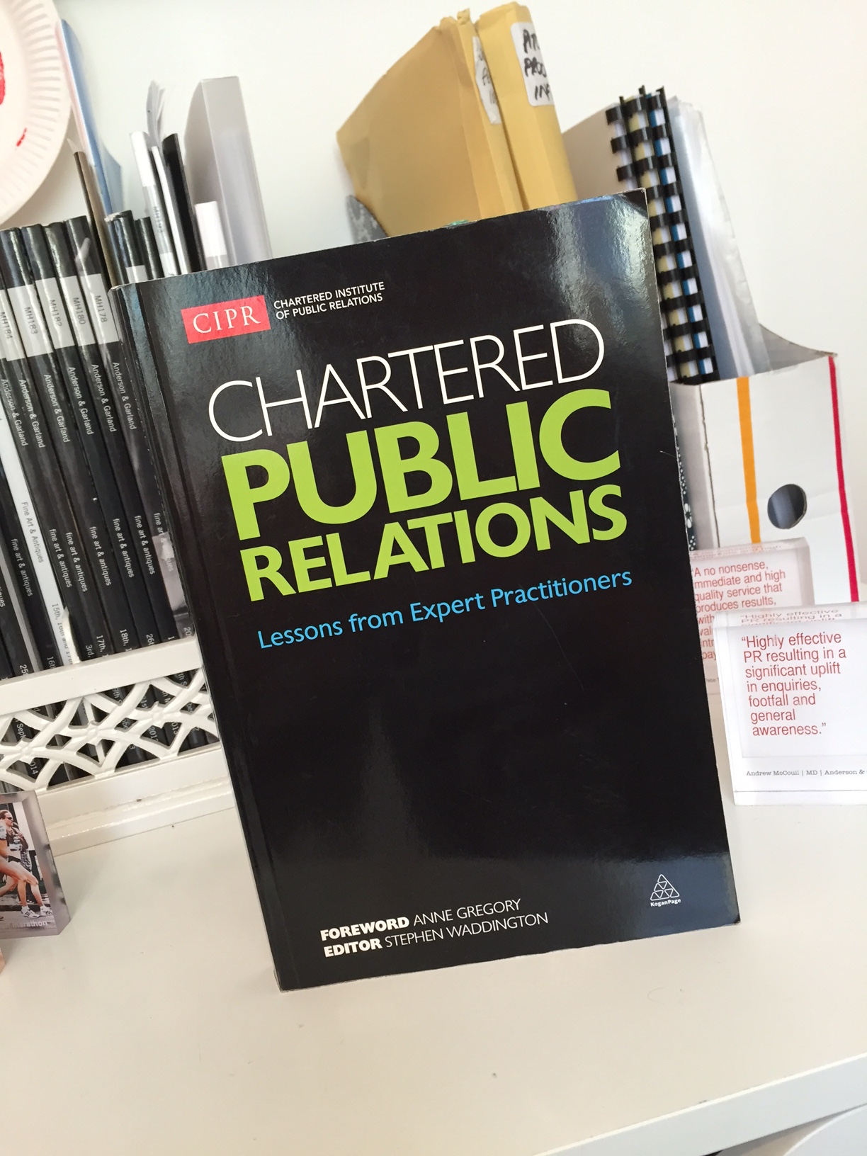 Chartered Public Relations: Lessons from Expert Practitioners