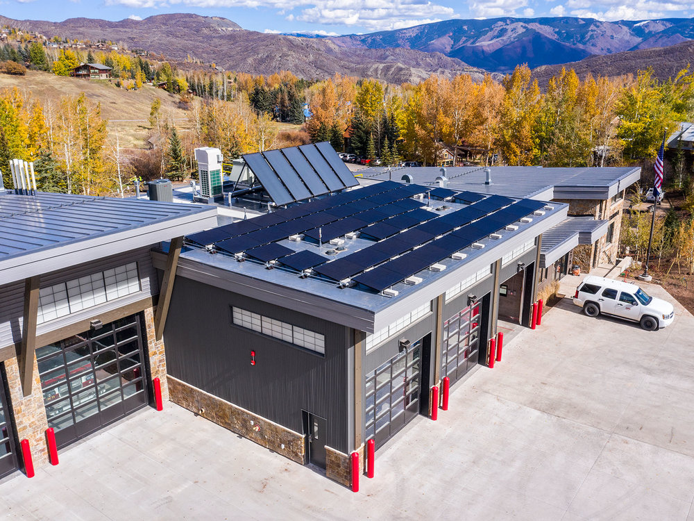 Aspen Solar, Firehouse, CO