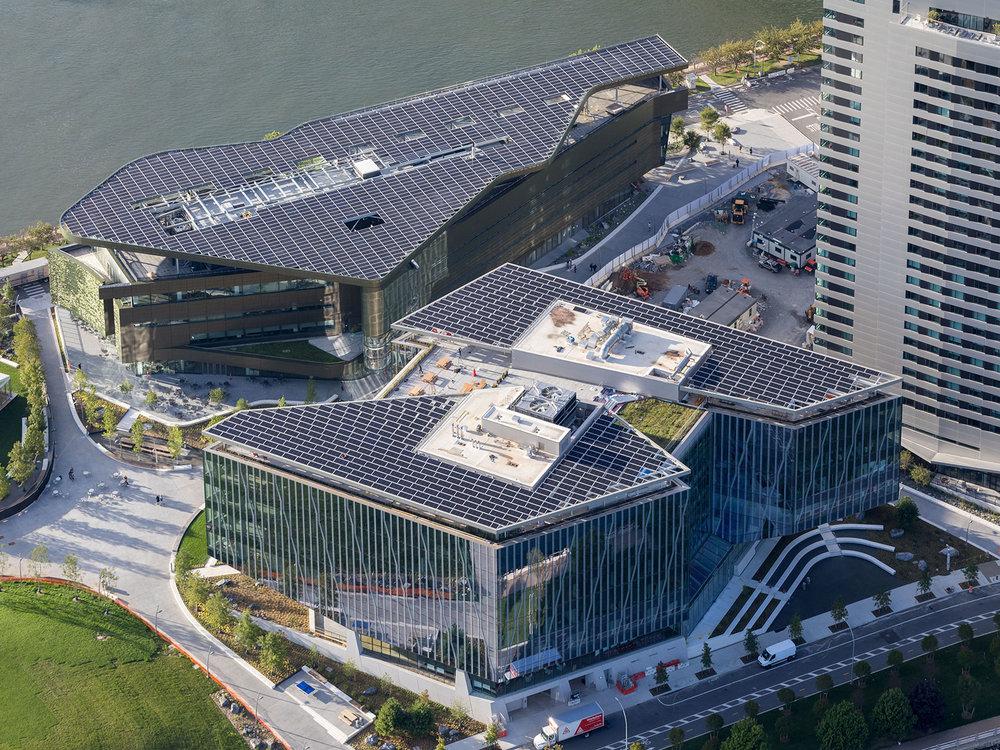 Enter Solar, Cornell Tech University, NY