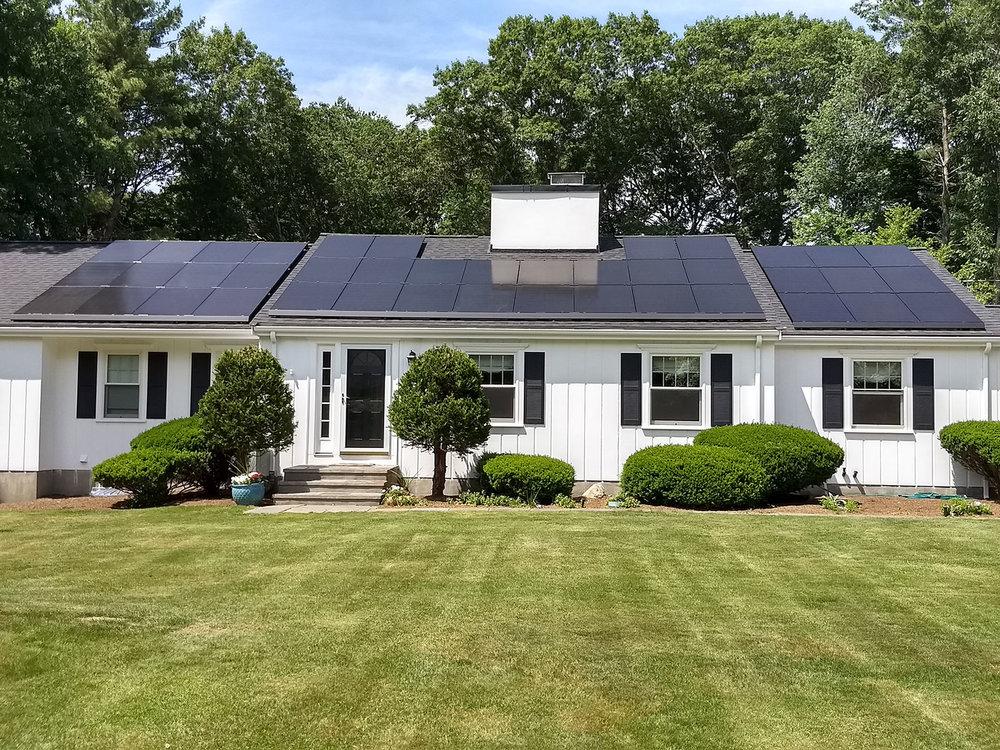 Great Sky Solar, Residence, MA