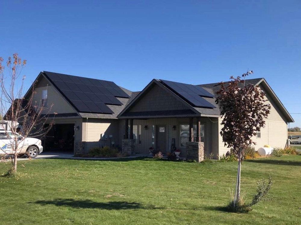 Gietzen Solar, Residence, ID