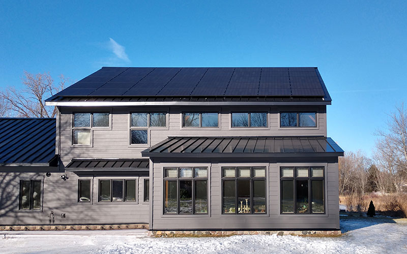 Actual Solaria PowerXT Installation