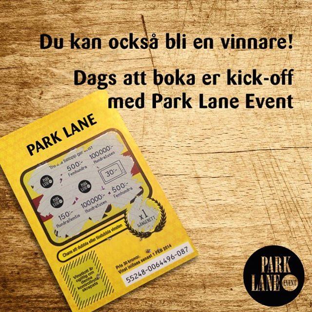 Dra på trissor! Hög tid att boka nästa års firmaskiva. Kontakta oss www.parklaneevent.se vi är proffs på party!