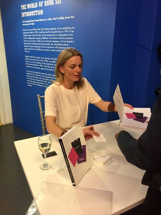 Book signing  at the Fashion & Textile museum - June 2017