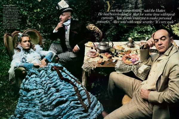 Stephen Jones (the Mad Hatter) and Christian Lacroix (the March Hare)Christian Lacroix Haute Couture.jpg