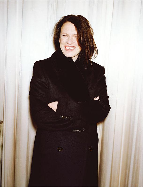 Katie Grand -portrait by  Angelo Pennetta