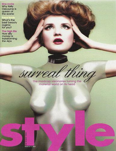 Sunday Times Style Magazine Image:  Matthew Shave