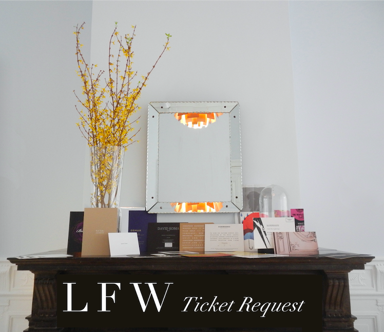 How to: Send a personalised email to multiple recipients for LFW show tickets, the fastest way possible - AKA Mail Merge