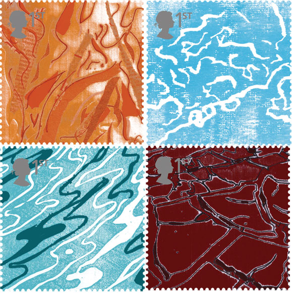 Postage stamps designed by Geraldine Traynor
