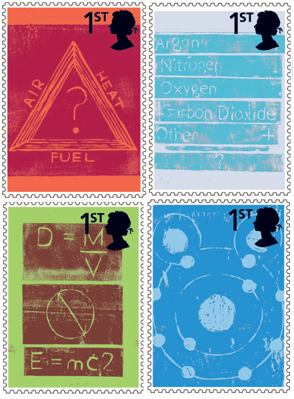 Postage stamps designed by Miriam Ali