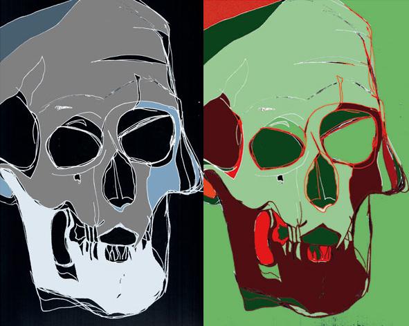Skull by Christine Cumming
