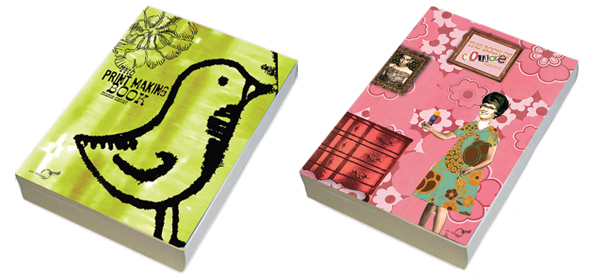 Book covers by Marie Canat