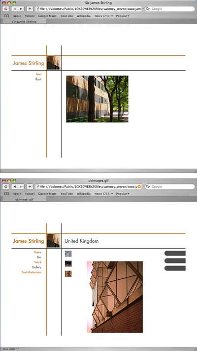 Website by Steven Swinney