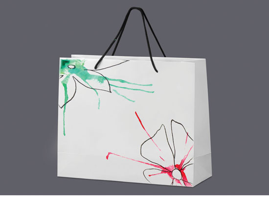 Gift bag for a range of bath products, by Ashley Donelli