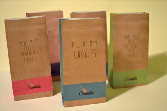 Branding for cookies, by Claire Mills