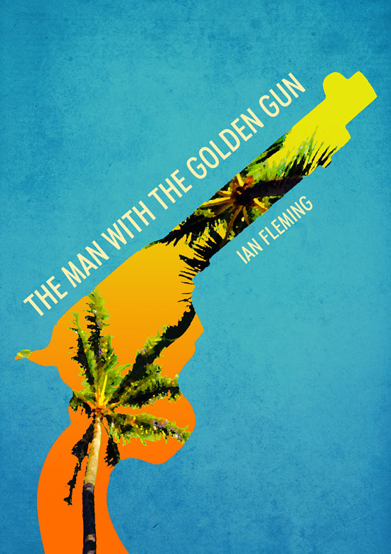 The Man With The Golden Gun, designed by Finlay Barron