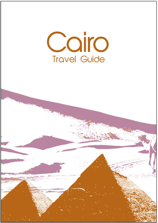 Cairo travel guide, designed by Laura Nicholson