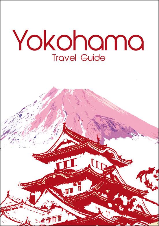 Yokohama travel guide, designed by Laura Nicholson