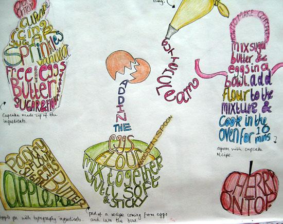 Sketchbook work by Julia Doogan