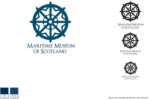 Brand for Maritime Museum by Kate Oakwood