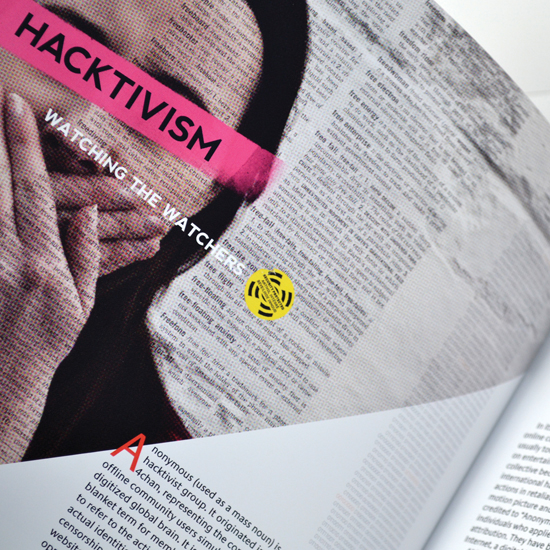 Editorial design by David Swift